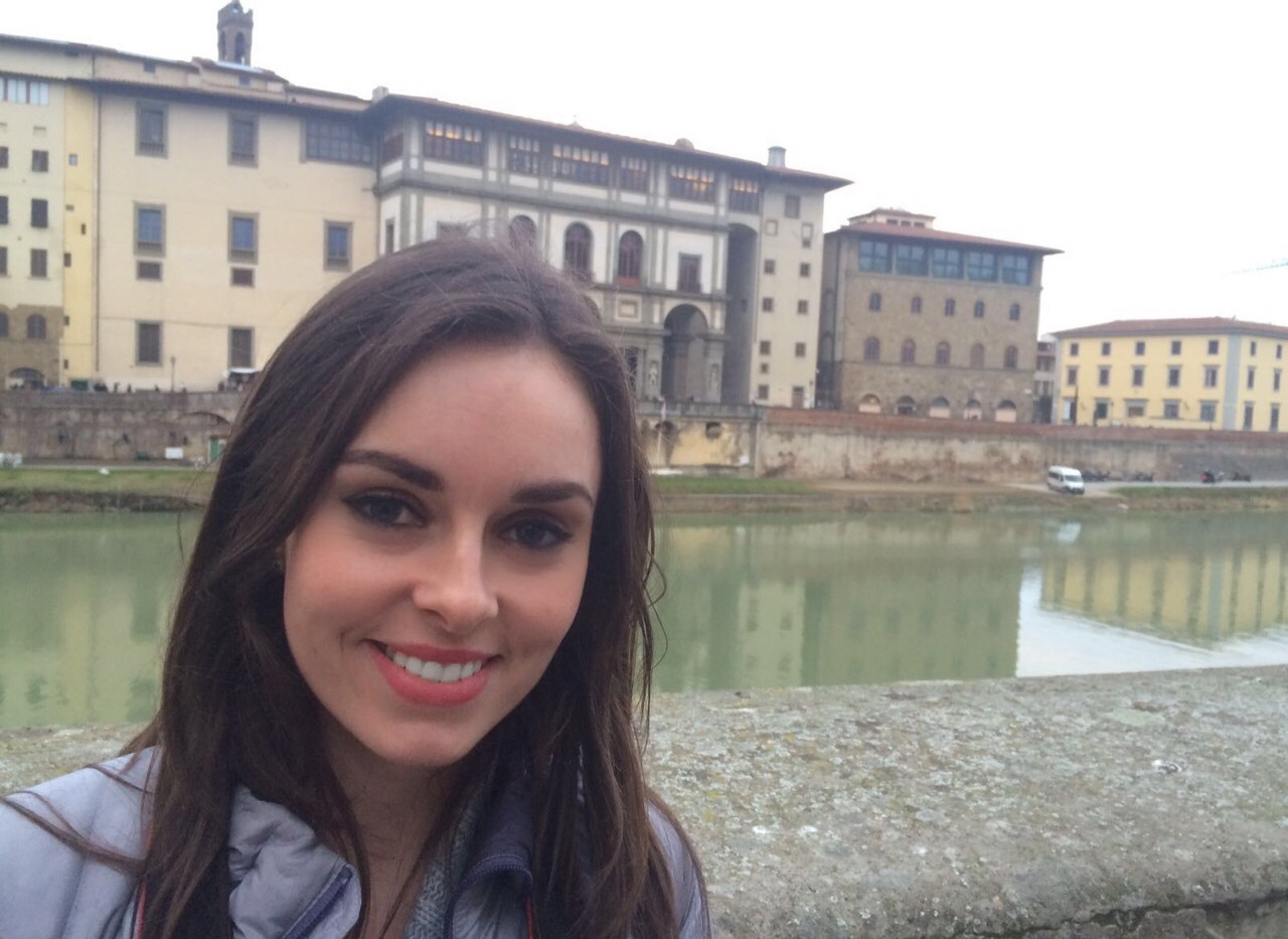 Our Chief Fun Officer Holly in Italy