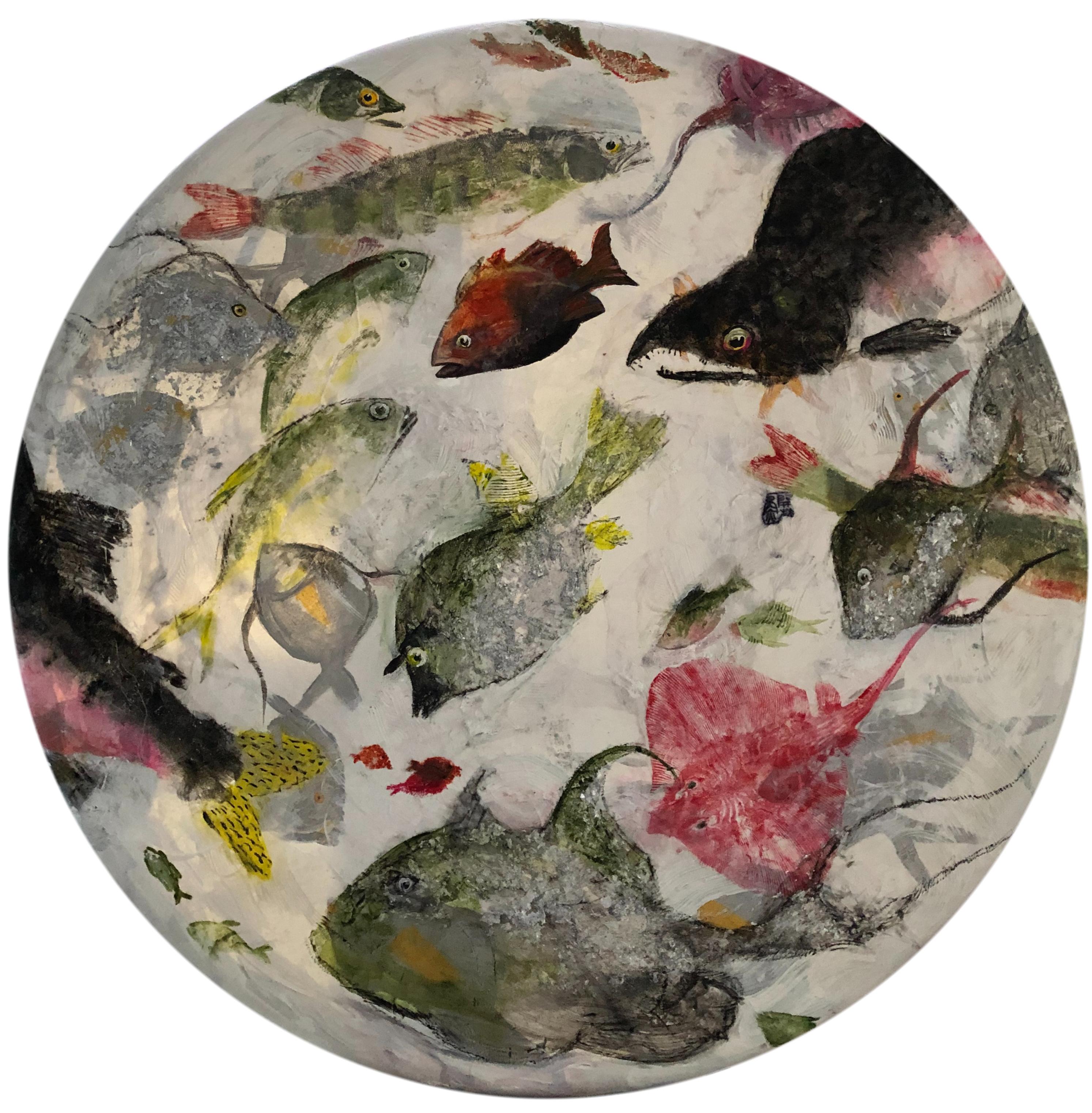 Gyotaku Print Collage 2