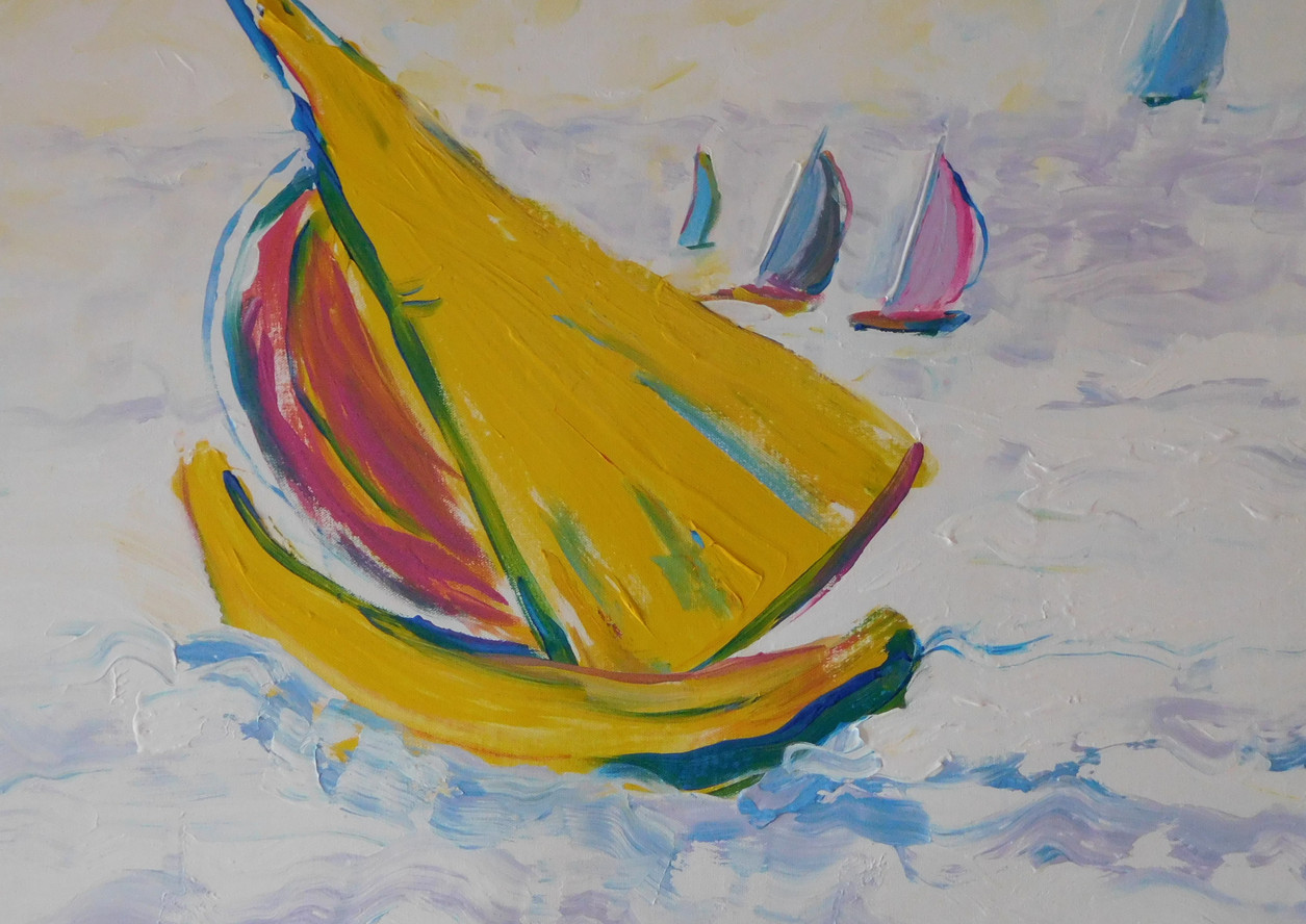 Yellow Boat 2