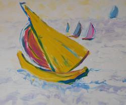 Yellow Boat II