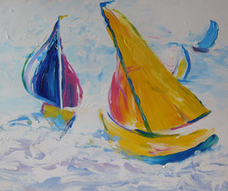 Yellow Boat I
