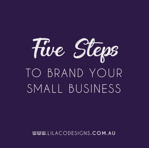 5 Steps to Brand your Business