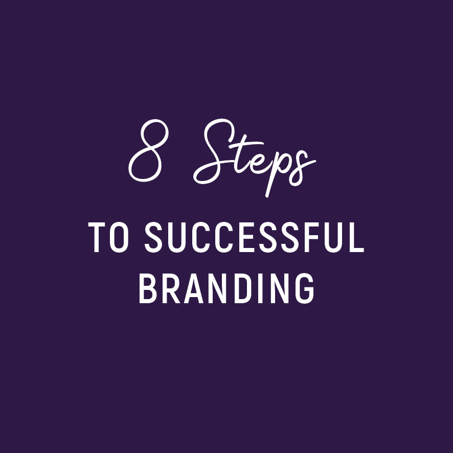 8 Steps to successful branding