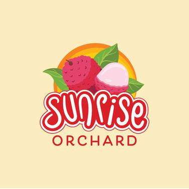Logo Design for Sunrise Orahard