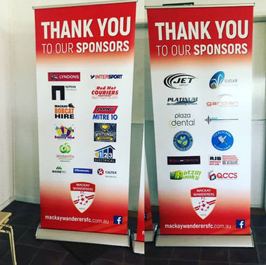 Pull up banner Design by Lilaco Designs