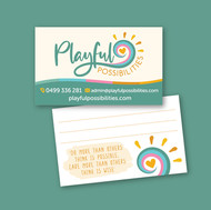 Business Card and Branding for Playful Possibilities