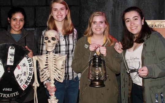 Some of our sisters visited an escape ro