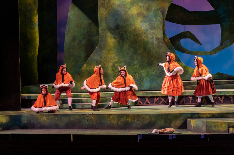 Our sisters in the opera, The Cunning Little Vixen in November 2019!