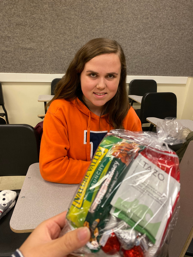 Finals Care Packages with our Professional Development Chair, Maddie Novy