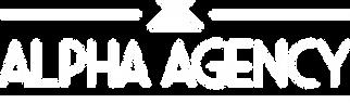 Alpha Agency Logo CMYK White.png