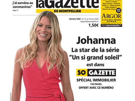 Branchée Déco dans la Gazette de Montpellier