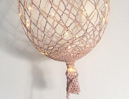 Ballon rose
