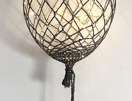 Ballon gris foncé
