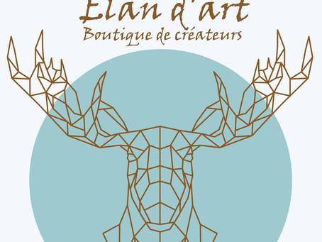Retrouvez-nous à Alès chez Elan d'Art