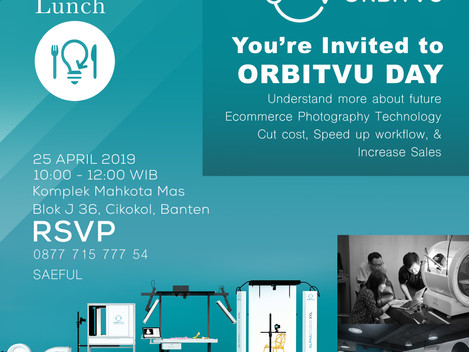 You're Invited to Orbitvu day