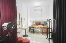 backlight studio stylist area