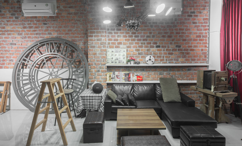 backlight studio waiting area