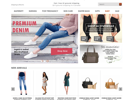 Rotating images generate a higher sale for DueMaternity.com