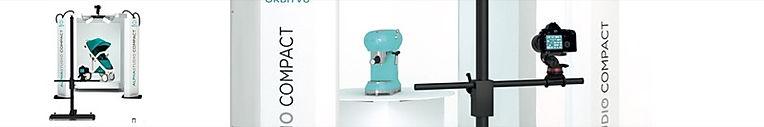 alphastudio compact, foto otomatis, manekin, kereta bayi, furnitur