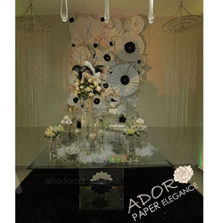 Entry way to your event by Adoro Paper Elegance #floralbackdrop #paperflowers #adoropaper #adoropape