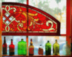 BottlesInWindow,Sausalito Mus..jpg