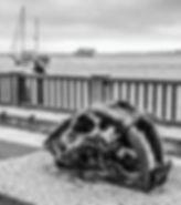 SkullSculpture&EmbarcaderoB&W.jpg