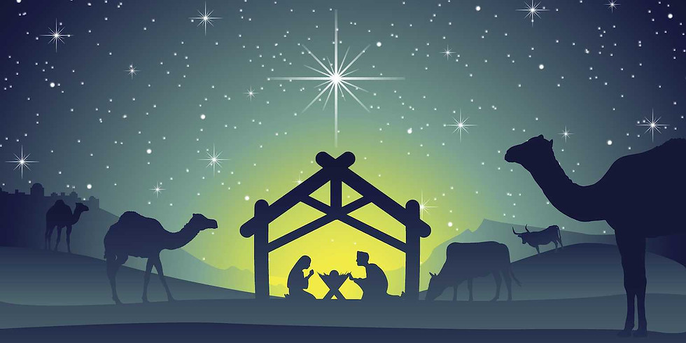 Christmas Eve Candlelight Service at 5:00 pm