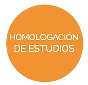 Homologación de estudios