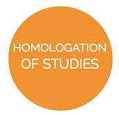 Homologation of studies