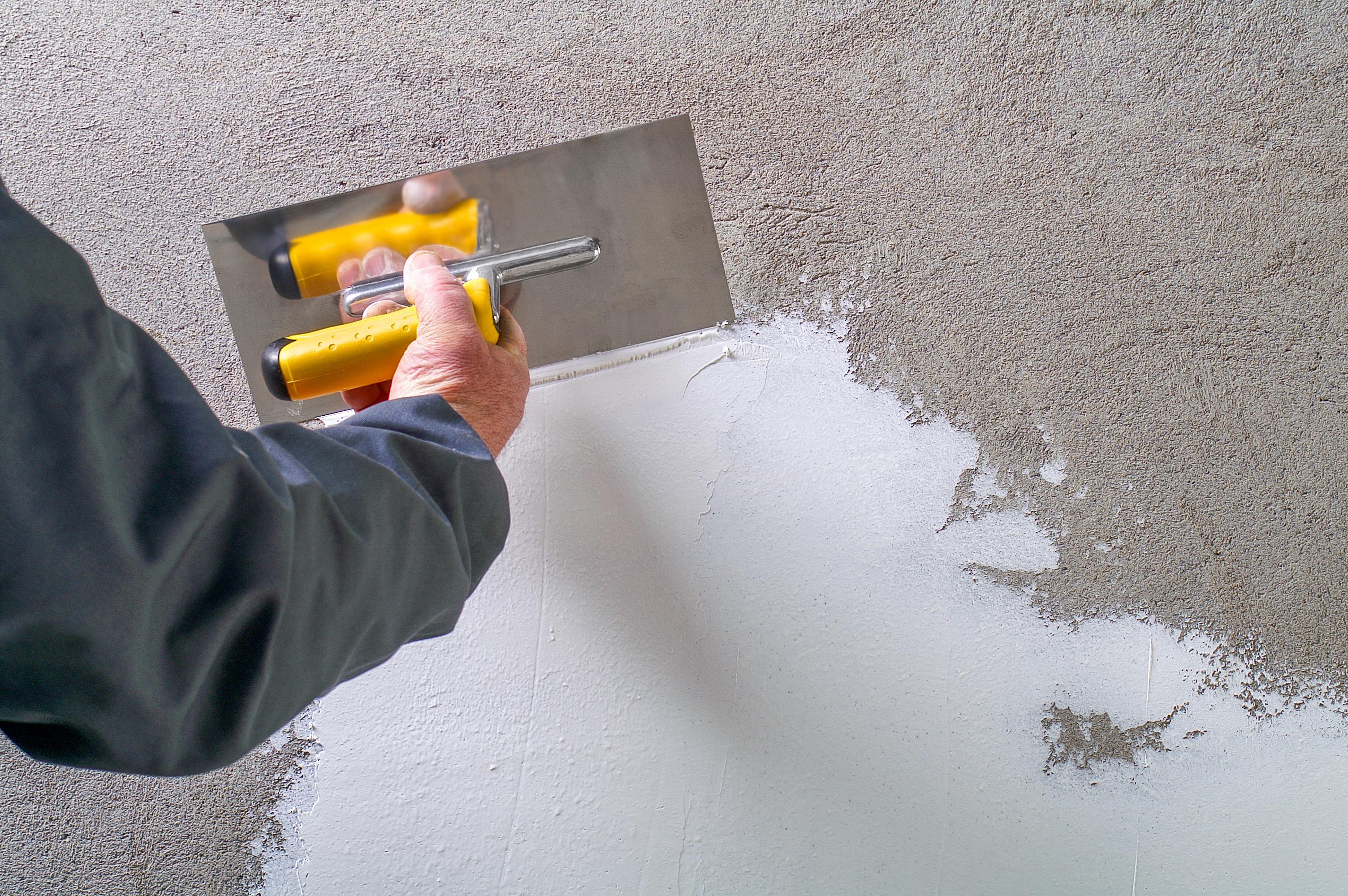 Spachteln, Sanieren oder Neubau