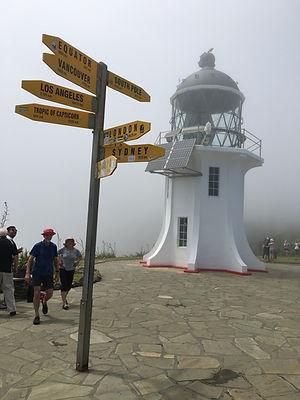 Lighthouse, Cape Reinga, NZ