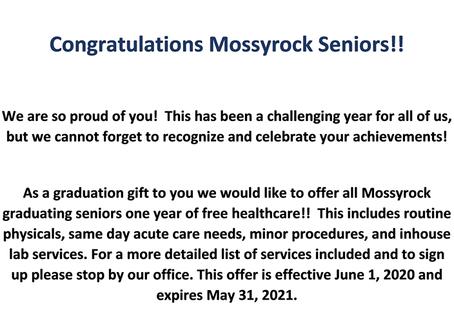 2020 Mossyrock Seniors