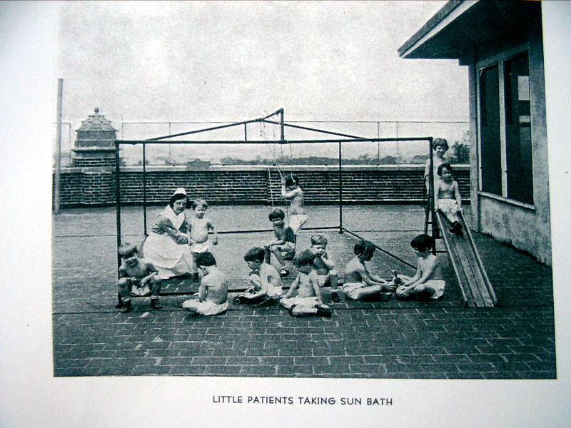 Waverly Kids on Rooftop
