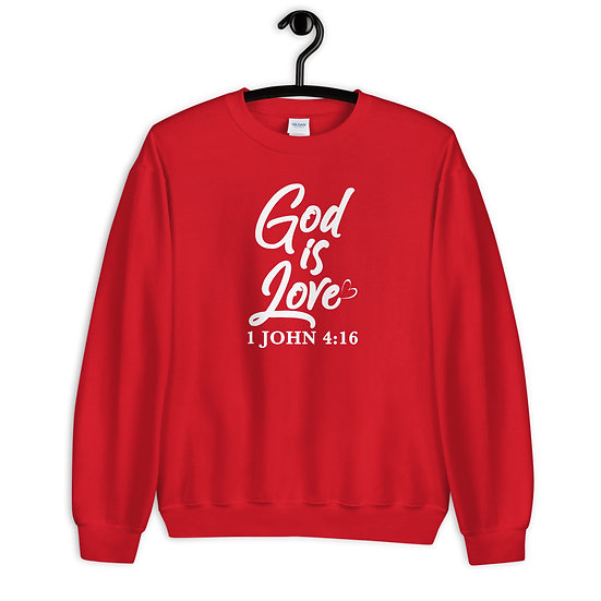 WTGA-God Is Love- Unisex Sweatshirt