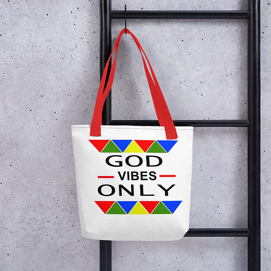 WTGA- God Vibes Only Tote Bag