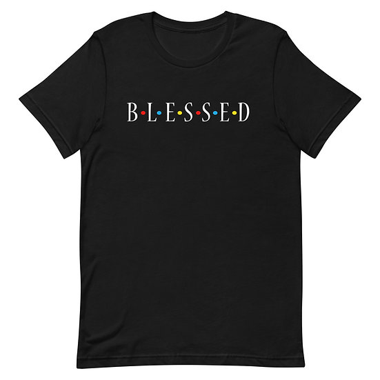 WTGA- Blessed -Short-Sleeve Unisex Shirt