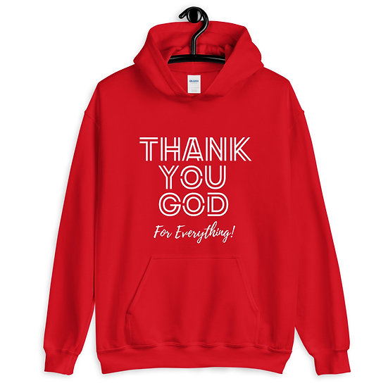 WTGA- Thank You God= Unisex Hoodie