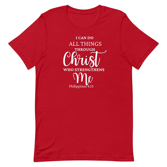 WTGA- Philippians 4:13 Unisex T-Shirt