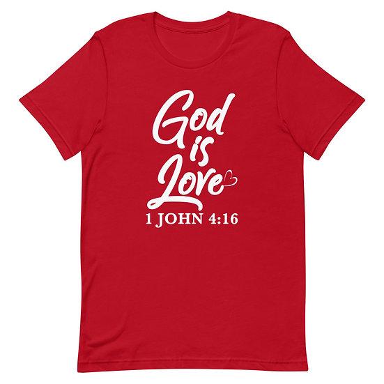 WTGA- 1 John 4:16- Short-Sleeve Unisex T-Shirt