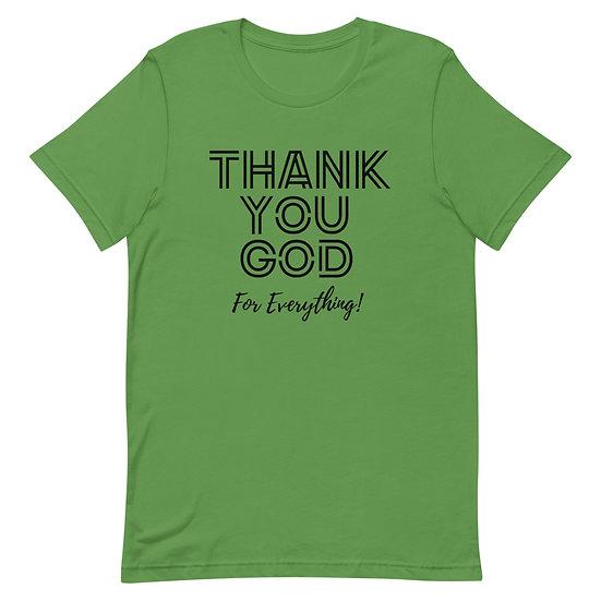 WTGA-Thank You God- Unisex T-Shirt