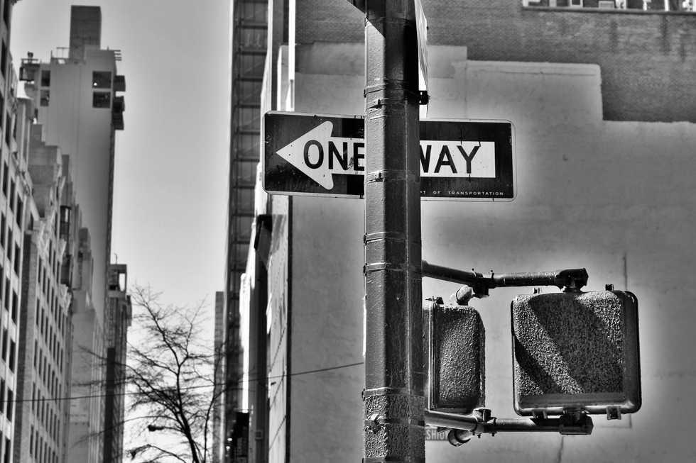 One Way, No Way