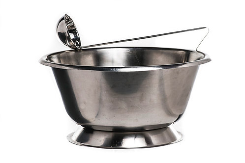 Bowl S/S Punch and Ladle