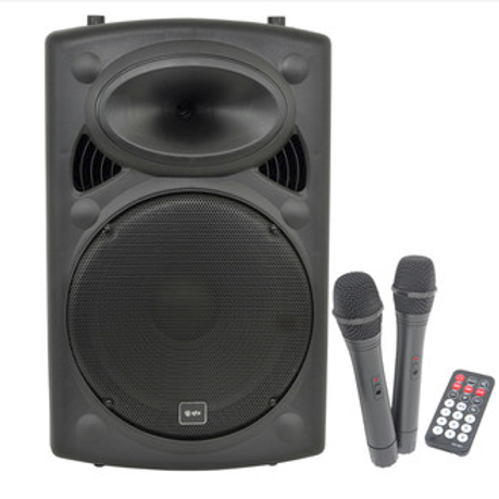 PA System QTX with Mic