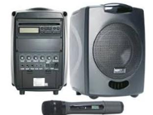 PA System Focus 500 +  mic