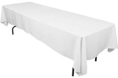 Tablecloth White Trestle 305