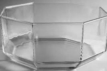 Bowl Glass Hexagonal