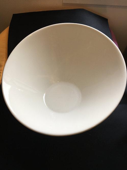 Bowl Serving White Round Elipse