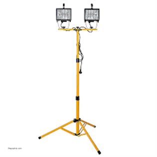 Light Floodlight on stand