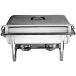 Dish Chafing Rectangle - Large - inc Fuel Gel