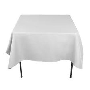 Tablecloth White Square 1.80